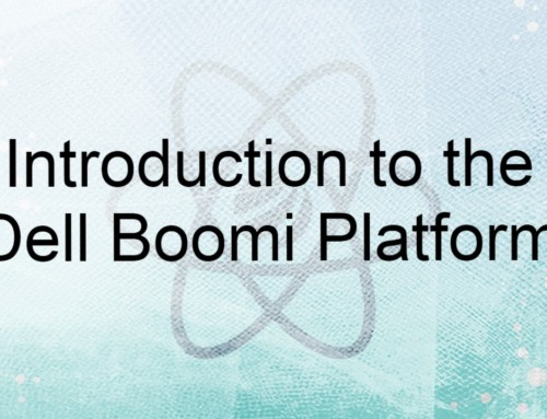 Introduction to the Dell Boomi Platform