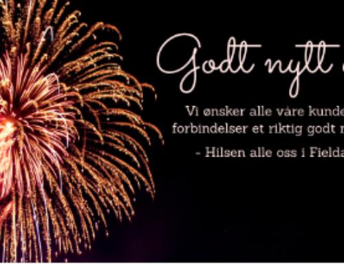 Med ønske om et godt nytt år!