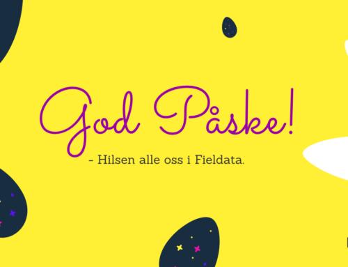 God påske fra oss i Fieldata!