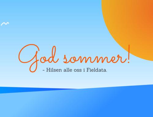 Fieldata ønsker deg en riktig så fin sommer