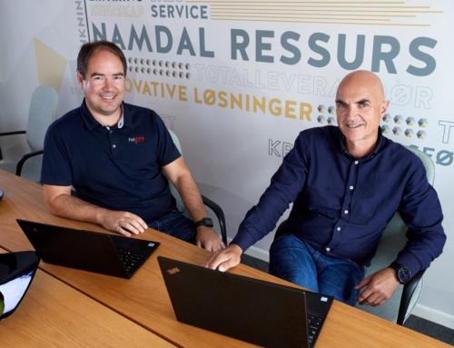 Namdal Ressurs tar en sentral rolle i det digitale skiftet med sitt kjøp av Fieldata AS